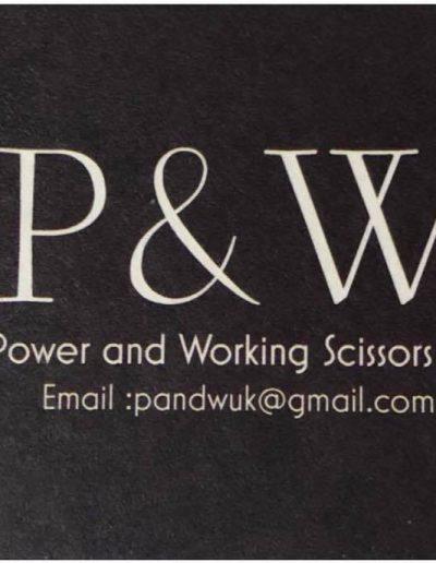 Power and Working Scissors UK
